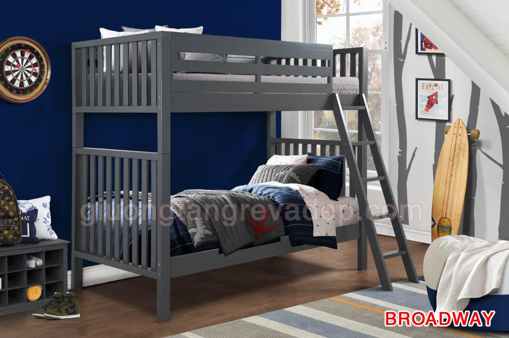 SALE giá gốc nhà máy giường 2 tầng kiên cố DROADWAY